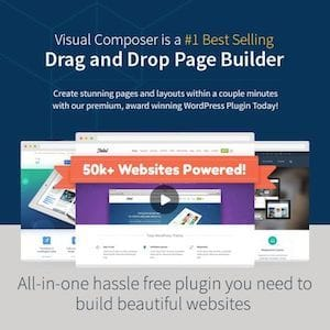 Visual Composer for WordPress - drag-and-drop WordPress page editing and page builder for WordPress